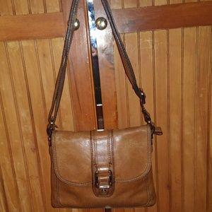 Fossil Saddle Bag Crossbody